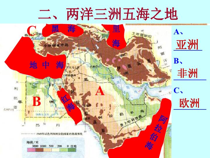 2016人教版七年级地理下册第八章 中东欧洲西部复习 共19张PPT