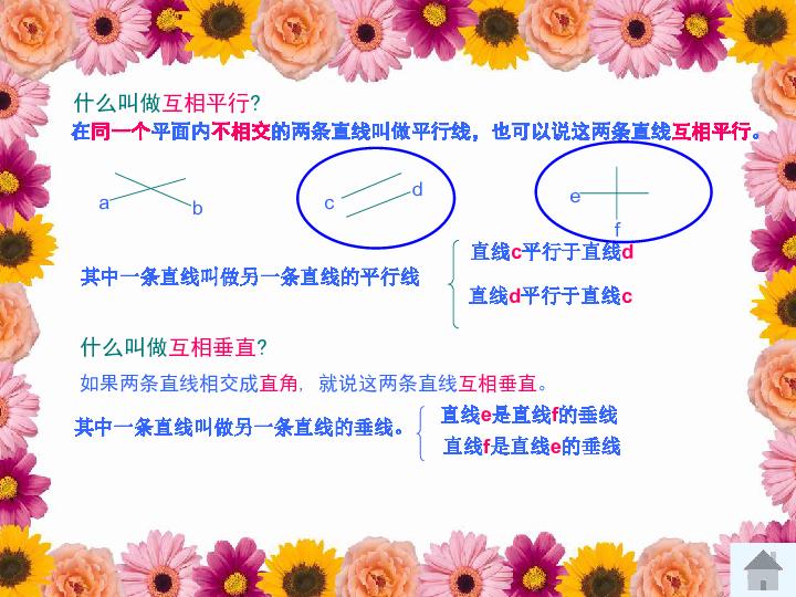 数学四年级上人教版5平行四边形和梯形总复习课件