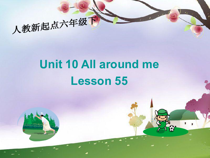 人教新起点小学英语六年级下册 unit10 lesson55 ppt课件