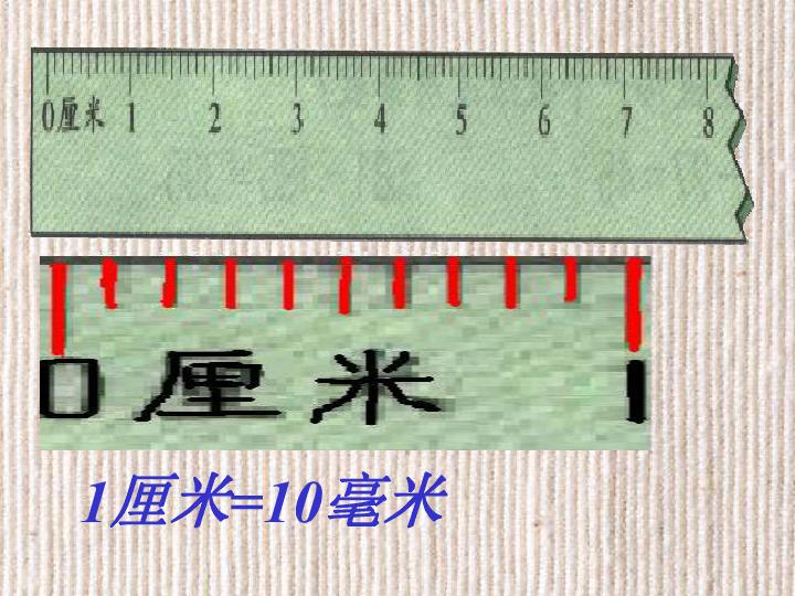 苏教版 三年级数学上册课件 毫米与分米的认识 1