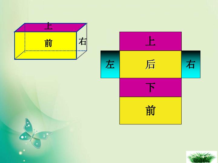 数学六年级上苏教版1长方体和正方体的表面积课件 22张