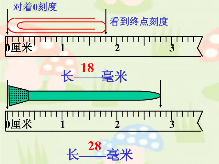 数学三年级上北京版4.2 分米和毫米的认识 课件