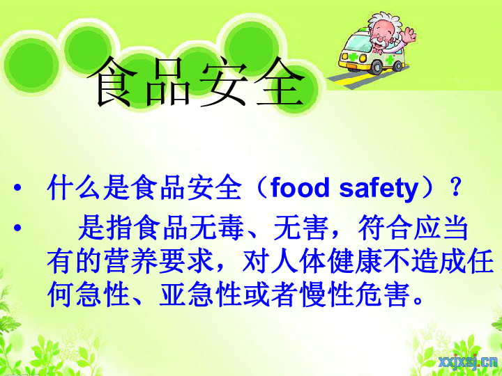 小学生合理膳食ppt_food safety ppt大全_food safety ppt汇总
