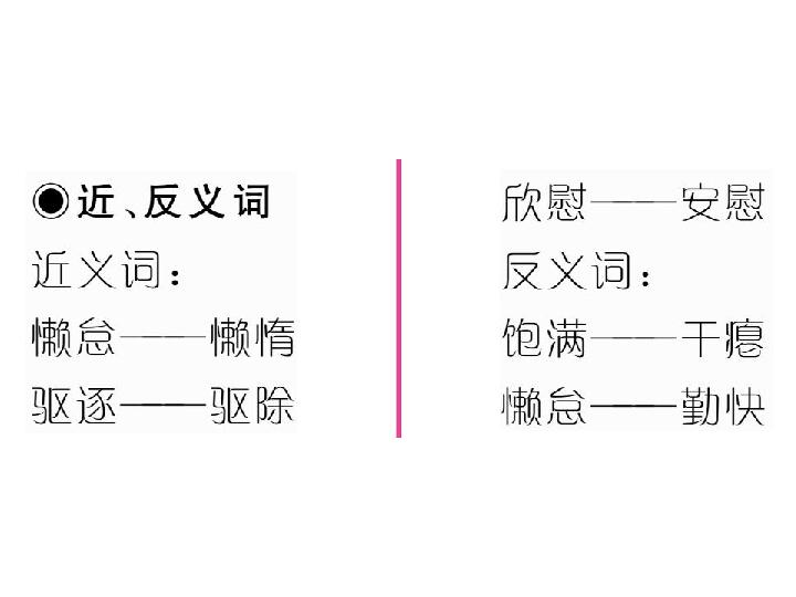 六年级上册语文习题课件 1 稻草人 共20张ppt