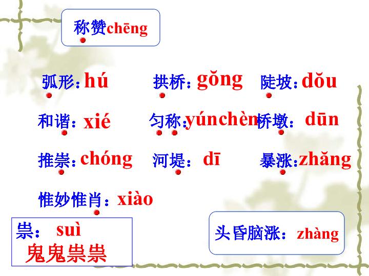 中国石拱桥课件 65张ppt