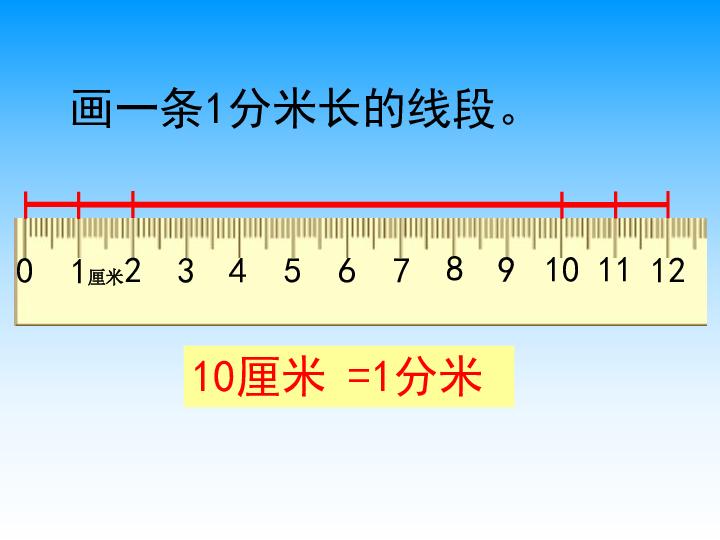 下册课件 认识分米和毫米 2