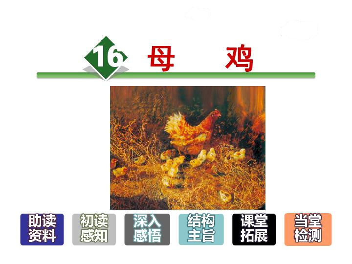 16.母鸡 共37张PPT