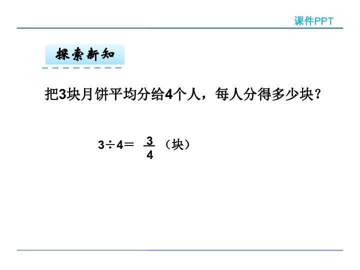 数学五年级下人教版4分数与除法课件 28张
