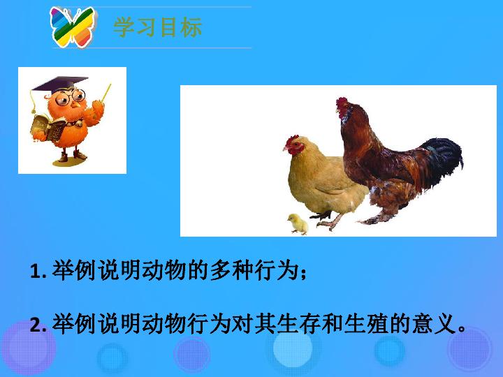16.2 动物行为的主要类型 30张ppt