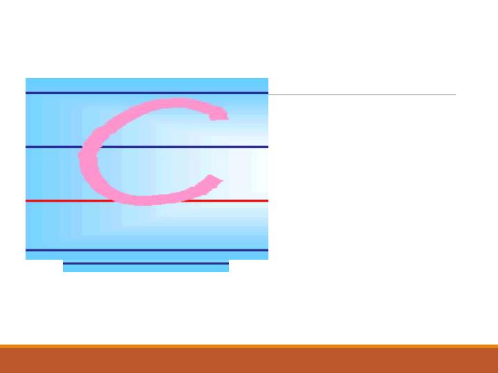 湘鲁版小学英语三年级上册26个字母书写规范课件