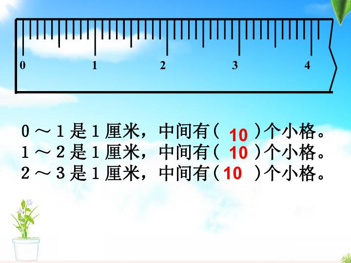 年级上人教版3毫米 分米的认识课件 共37张PPT