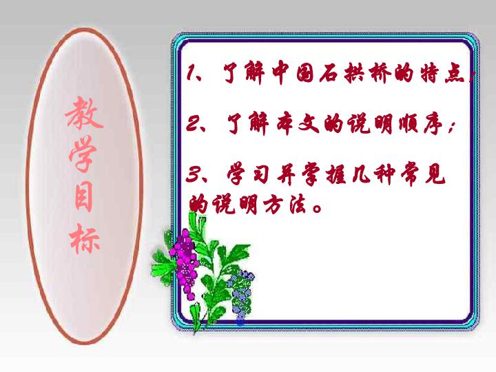 中国石拱桥 课件