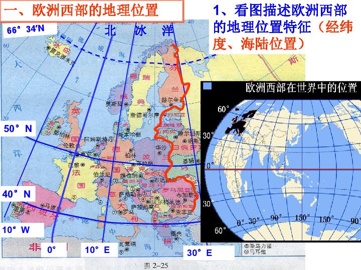2014高考世界地理 新课标 欧洲西部复习课件 26张ppt