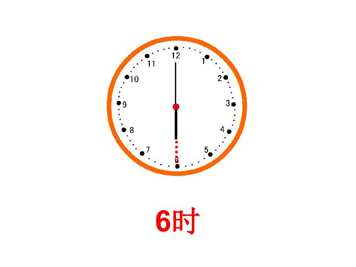 认识钟表 共18张PPT