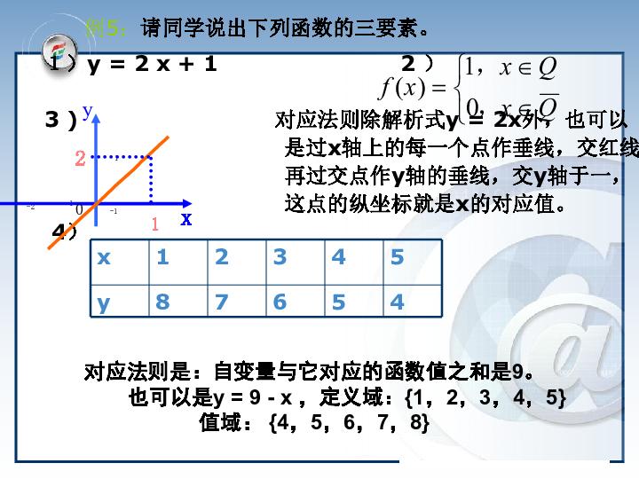 二节第一课时 函数的概念 教学课件 北师大版,13张PPT