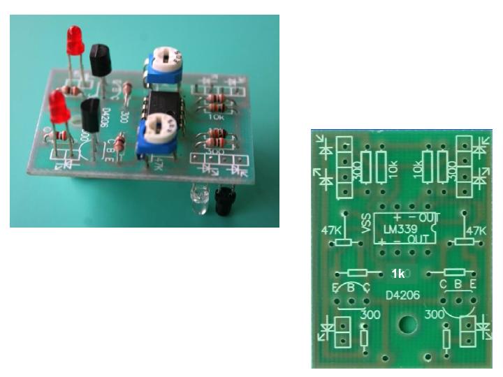 光电自动循迹小车 线路板的焊接课件