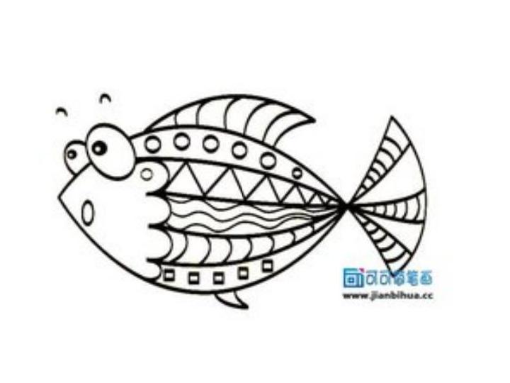 绘画社团鱼课件