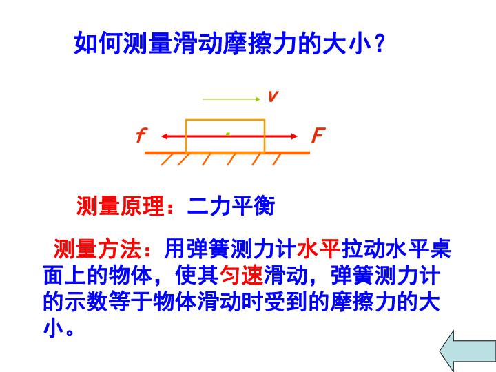 人教版物理八年级下册8.3 摩擦力