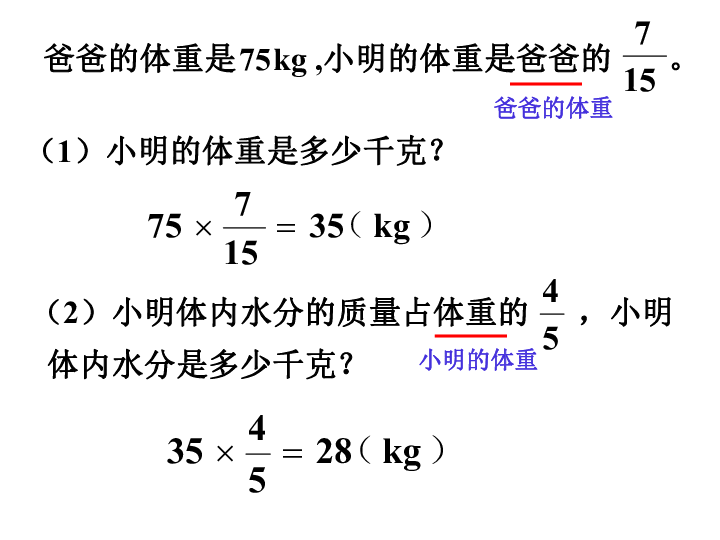数学六年级上人教版 分数除法解决问题 共21张PPT