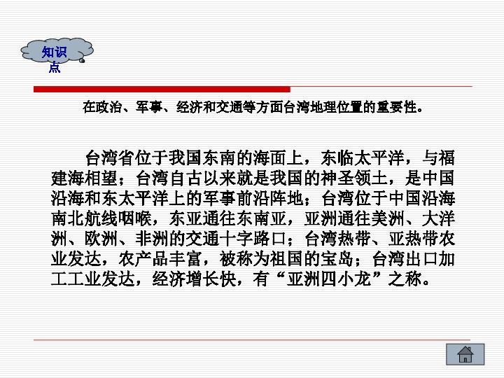 国的神圣领土 台湾省 共31张PPT