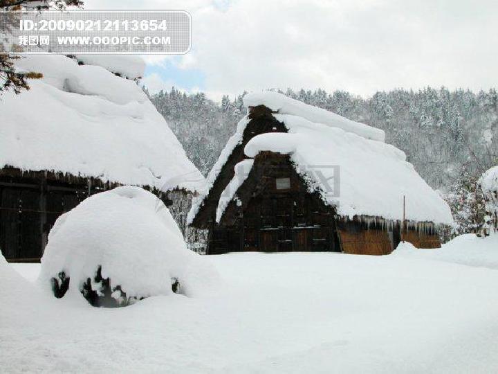 教版6.17 雪地里的小画家图片