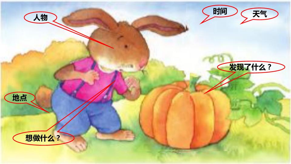 列 第八单元 小兔运南瓜 课件
